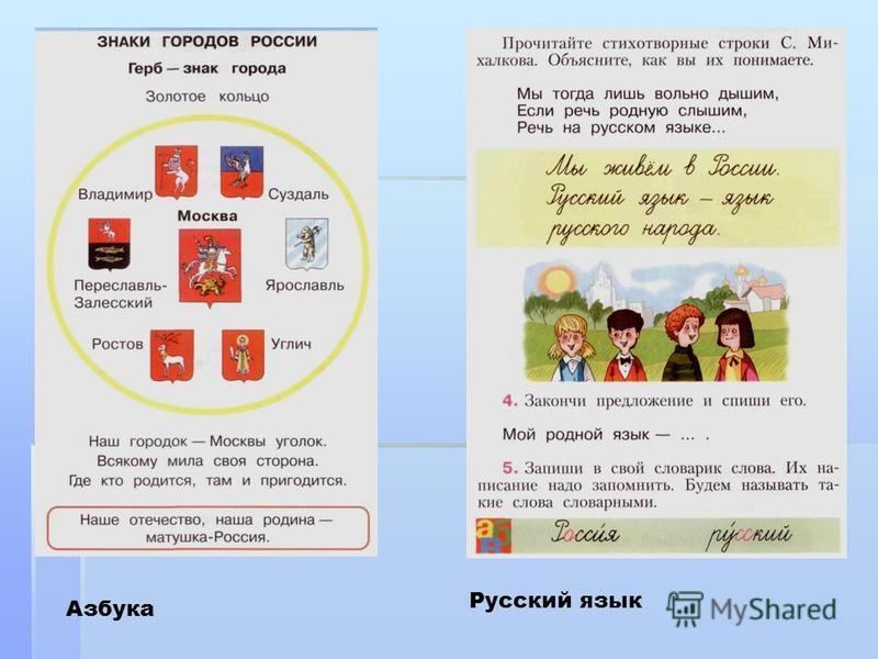 Азбука Русский язык