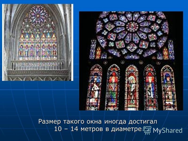 Размер такого окна иногда достигал 10 – 14 метров в диаметре