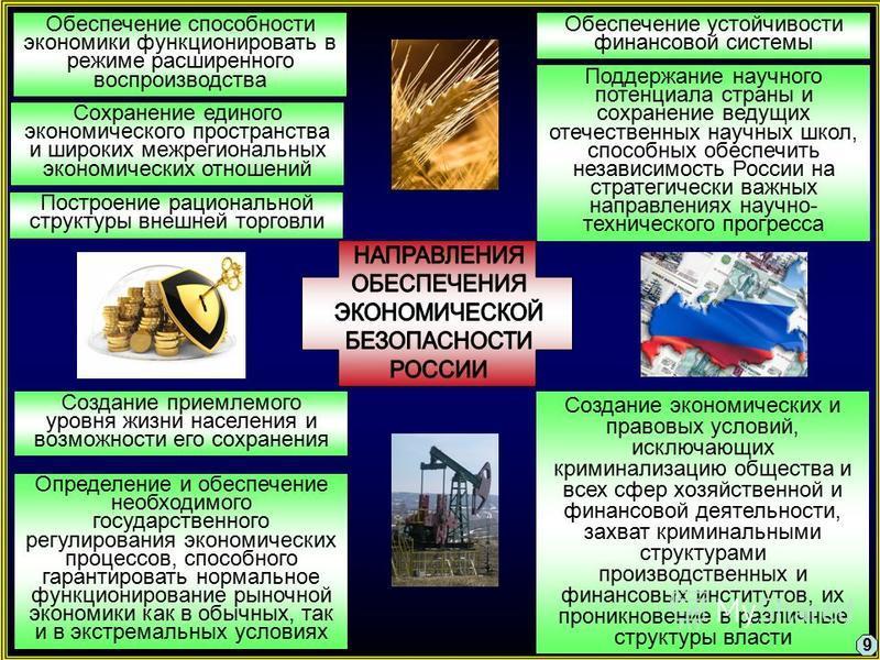 Обеспечение способности экономики функционировать в режиме расширенного воспроизводства Поддержание научного потенциала страны и сохранение ведущих отечественных научных школ, способных обеспечить независимость России на стратегически важных направле