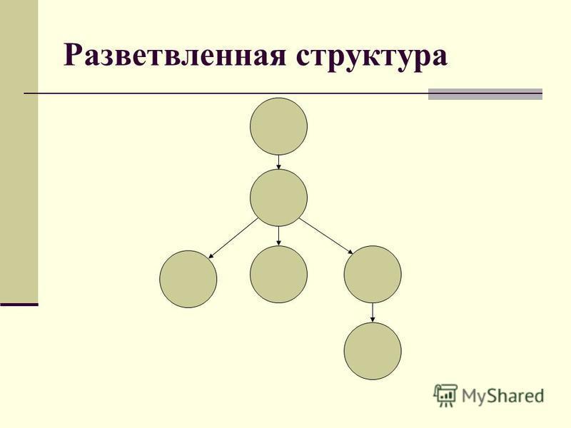 Разветвленная структура