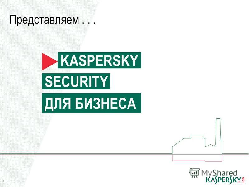 Представляем... KASPERSKY SECURITY ДЛЯ БИЗНЕСА 7