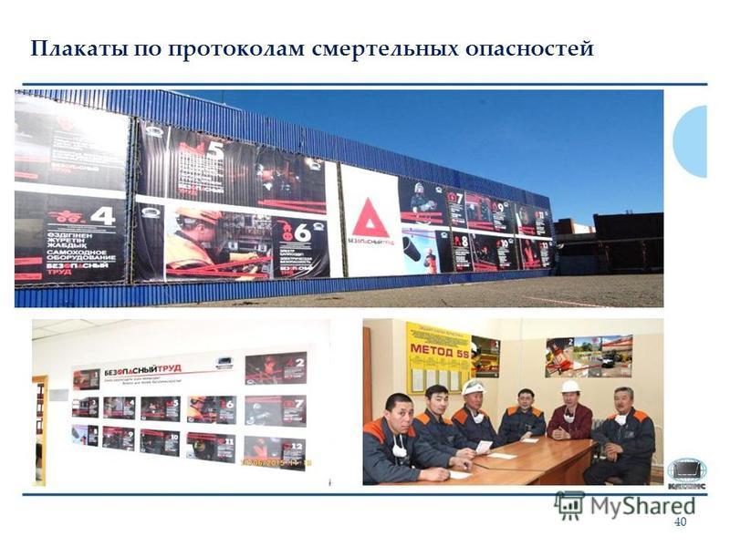 Плакаты по протоколам смертельных опасностей 40