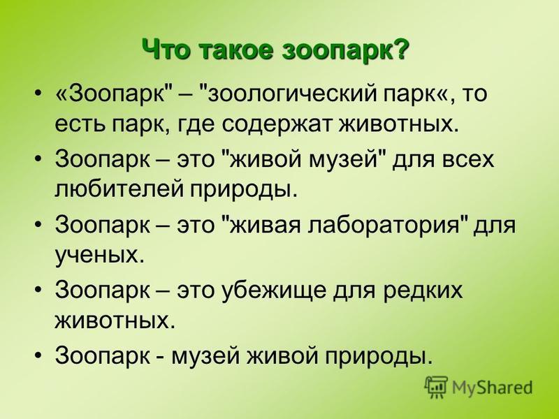 «Зоопарк