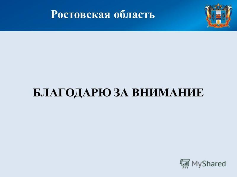 Ростовская область БЛАГОДАРЮ ЗА ВНИМАНИЕ