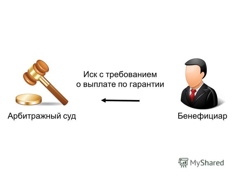 Бенефициар Арбитражный суд Иск с требованием о выплате по гарантии