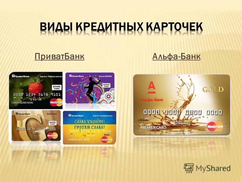 Приват БанкАльфа-Банк