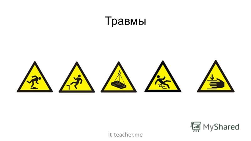 Травмы It-teacher.me