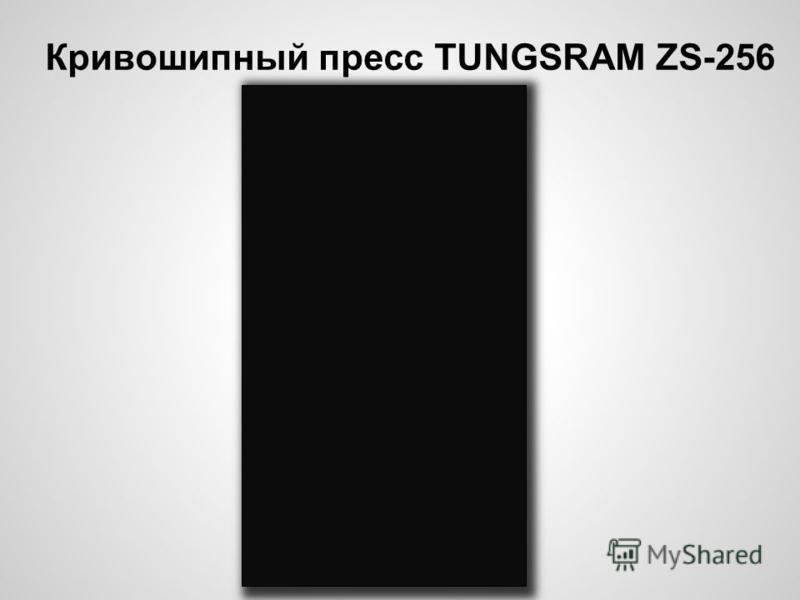 Кривошипный пресс TUNGSRAM ZS-256