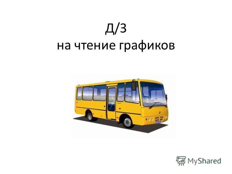 Д/З на чтение графиков