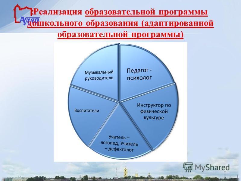 Реализация образовательной программы дошкольного образования (адаптированной образовательной программы)