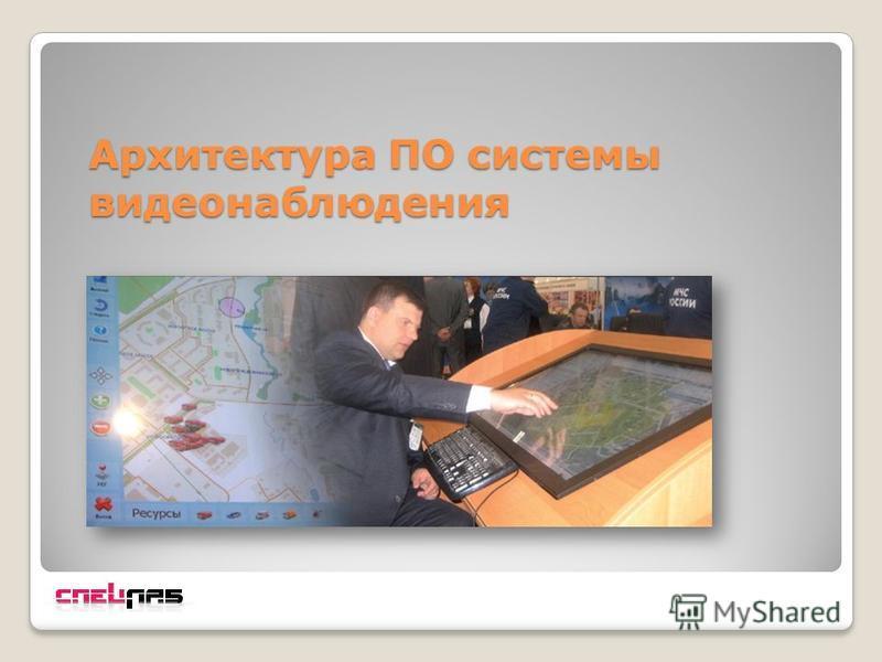 Архитектура ПО системы видеонаблюдения