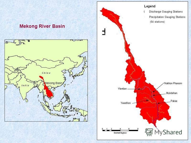 Mekong River Basin (64 stations)