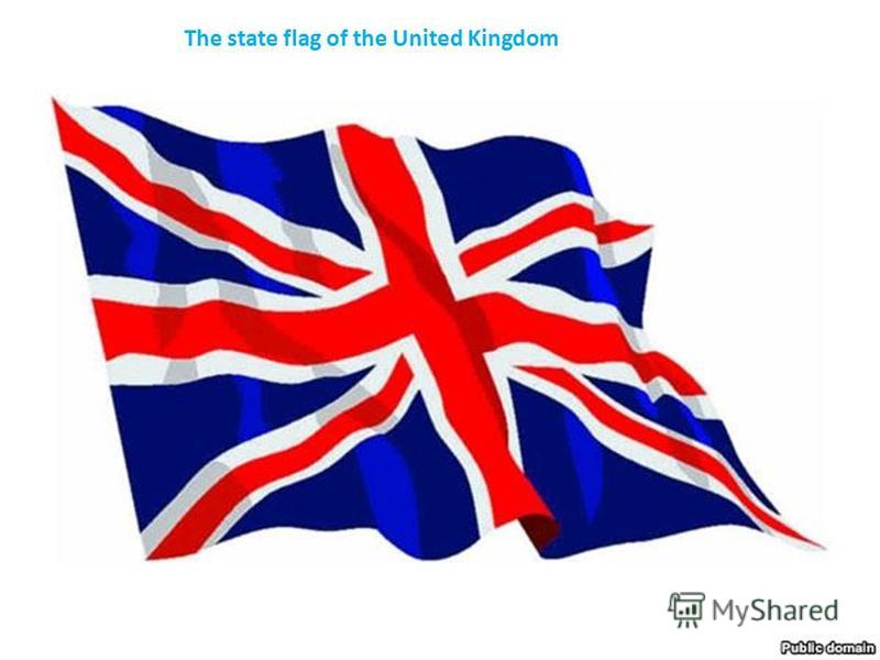 The state flag of the United Kingdom