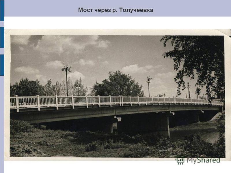 Мост через р. Толучеевка