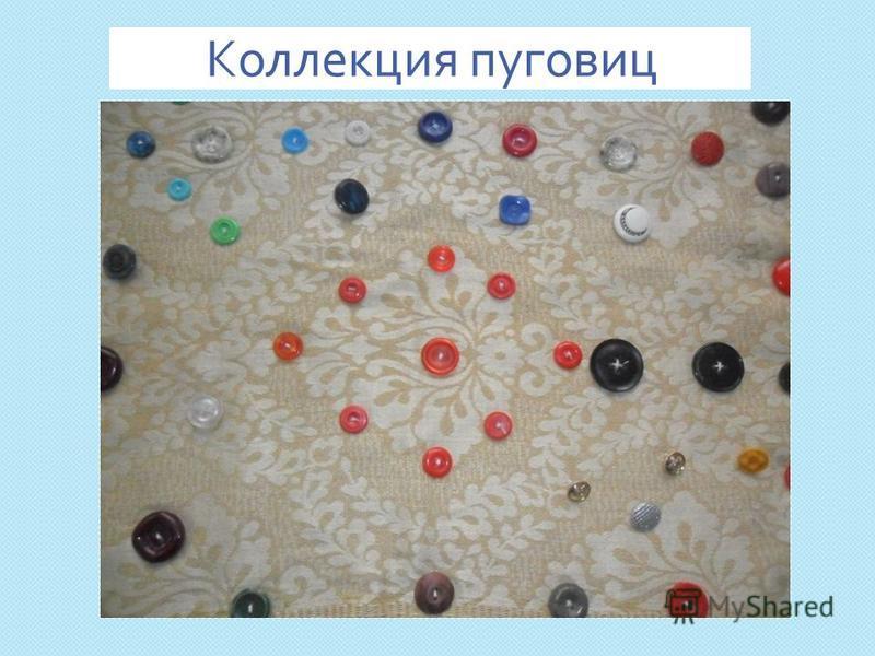 Коллекция пуговиц