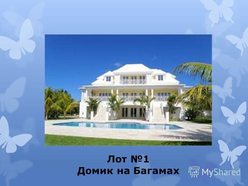 Лот 1 Домик на Багамах
