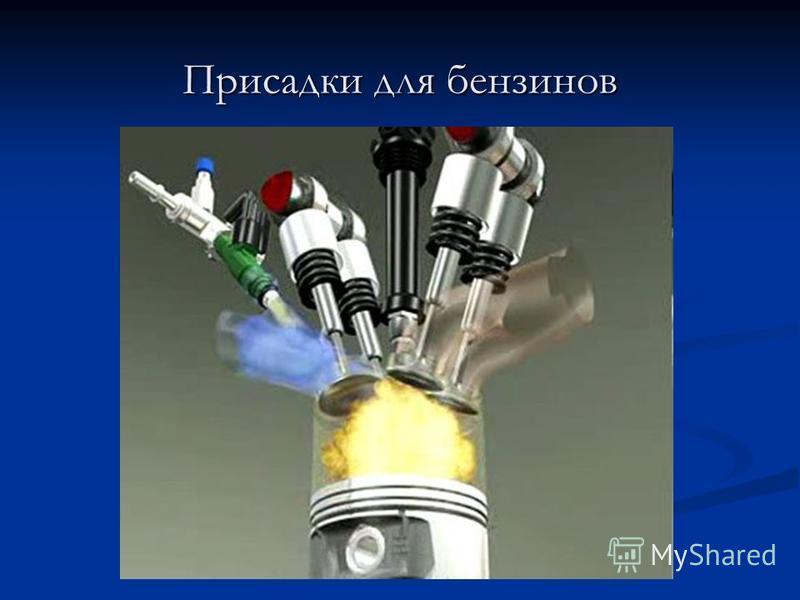 Присадки для бензинов