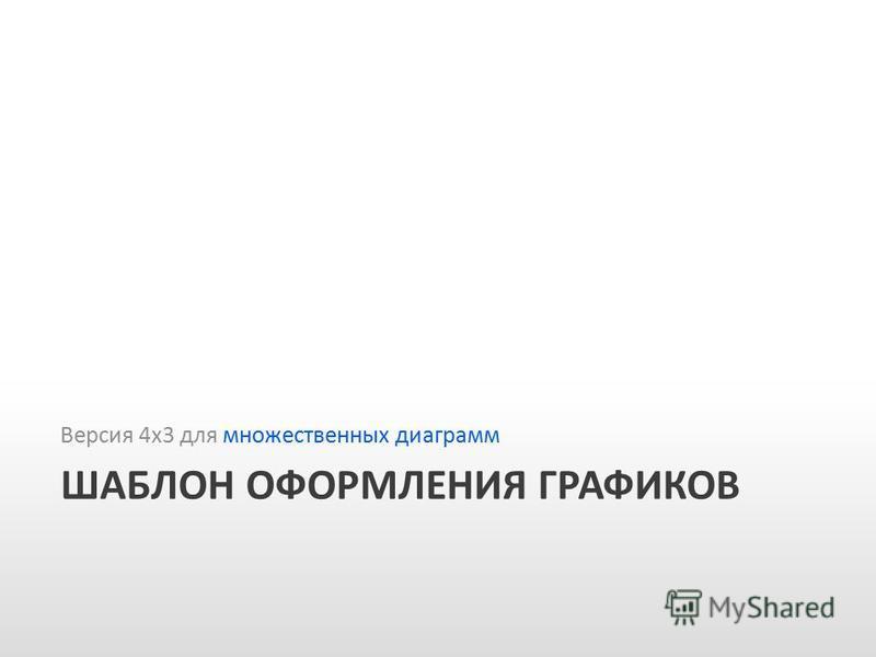 Slide GO.ru ШАБЛОН ОФОРМЛЕНИЯ ГРАФИКОВ Версия 4 х 3 для множественных диаграмм