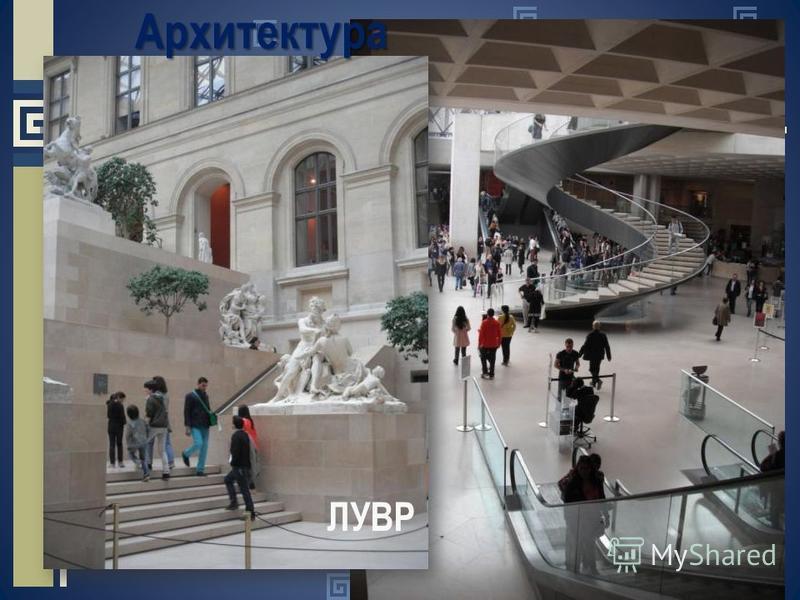ЛУВР Архитектура