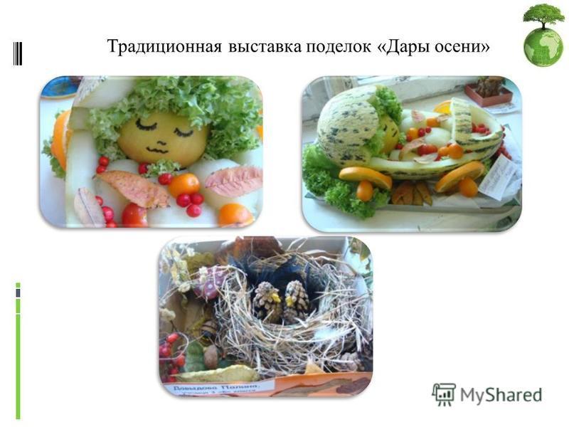 Планетарий Традиционная выставка поделок «Дары осени»