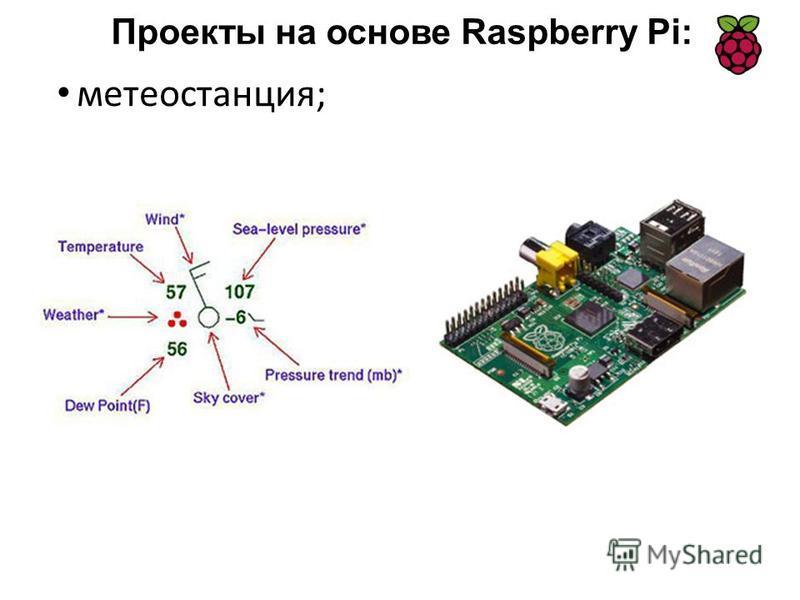 метеостанция; Проекты на основе Raspberry Pi: