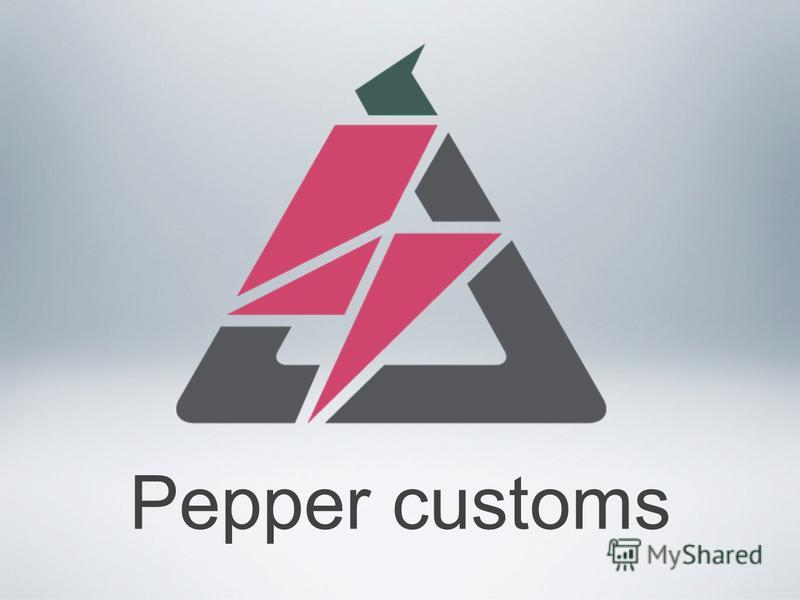 Pepper customs