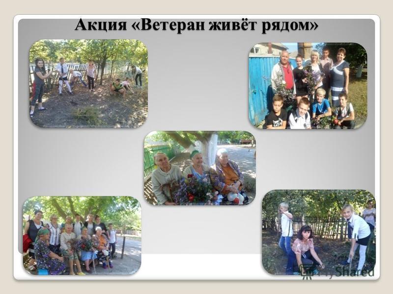 Акция «Ветеран живёт рядом»