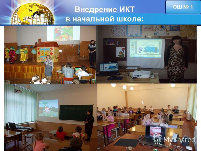 LOGO Внедрение ИКТ в начальной школе: ОШ 1