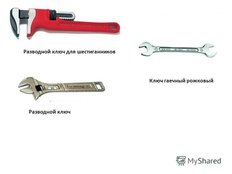 Разводной ключ для шестигранников Разводной ключ Ключ гаечный рожковый