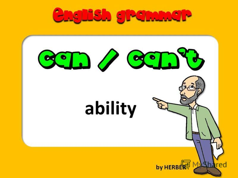 ability by HERBER