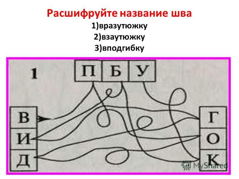 Расшифруйте название шва 1)вразутюжку 2)взаутюжку 3)вподгибку