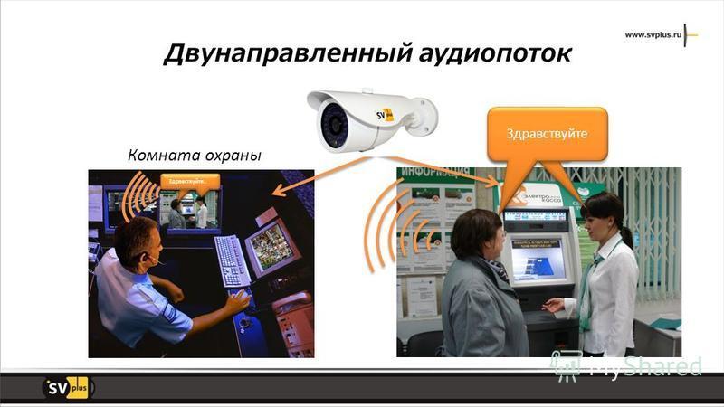 Здравствуйте Комната охраны Здравствуйте.. Двунаправленный аудио поток