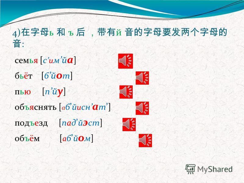 3) : мел [м э л] лёгкий [л о хкий] любит [л у б и т] рядом [р а д а м]