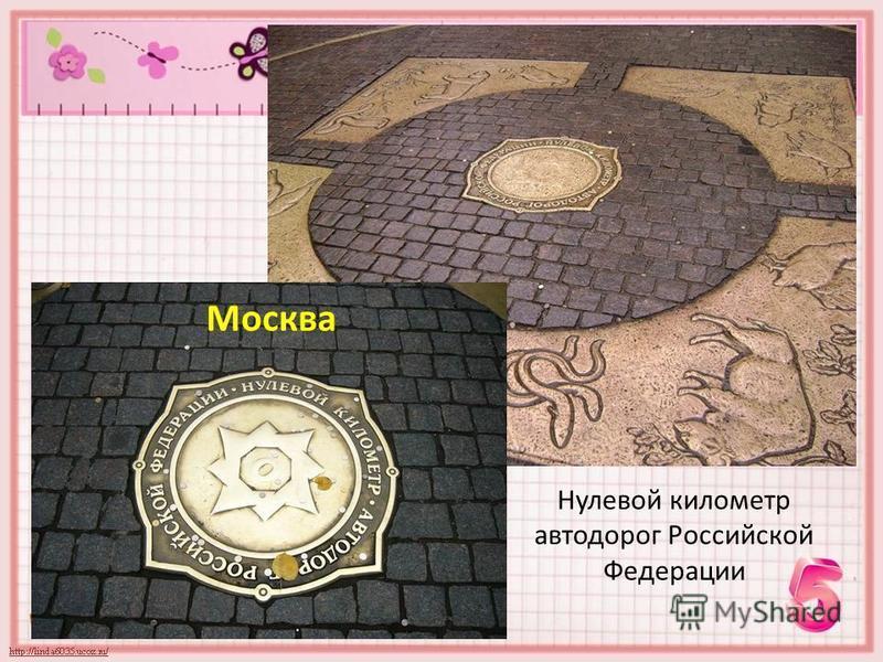 Нулевой километр автодорог Российской Федерации Москва