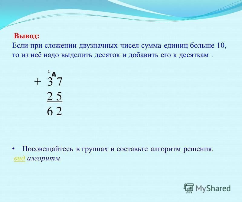 = Графическая модель примера + =