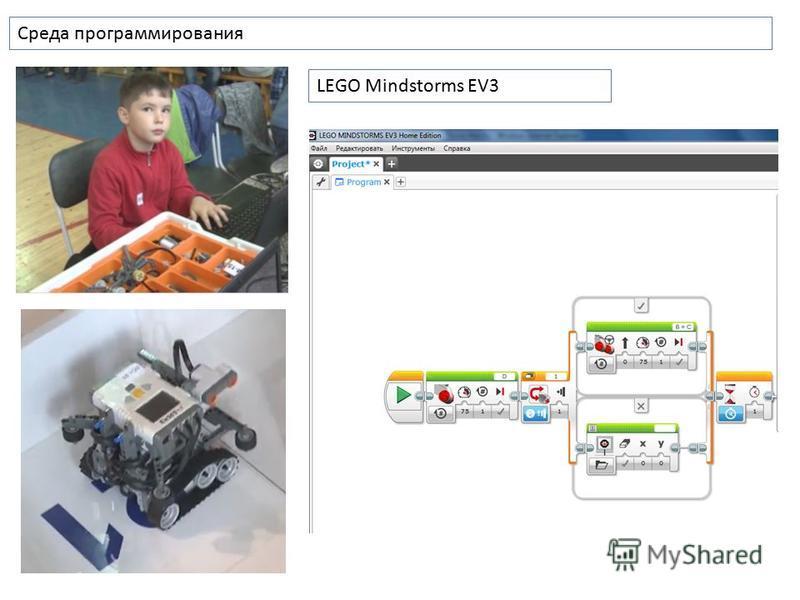 Среда программирования LEGO Mindstorms EV3