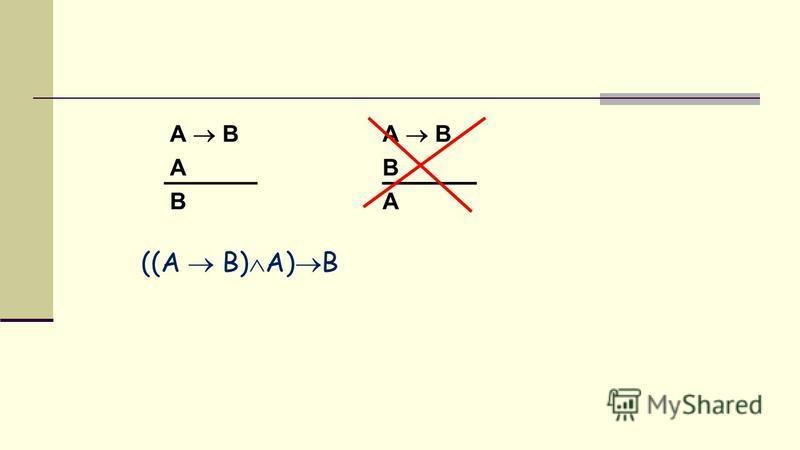 A B A B A B B A ((A B) A) B