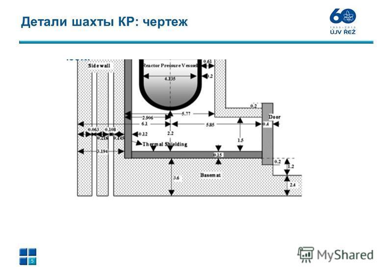 Детали шахты КР: чертеж 5