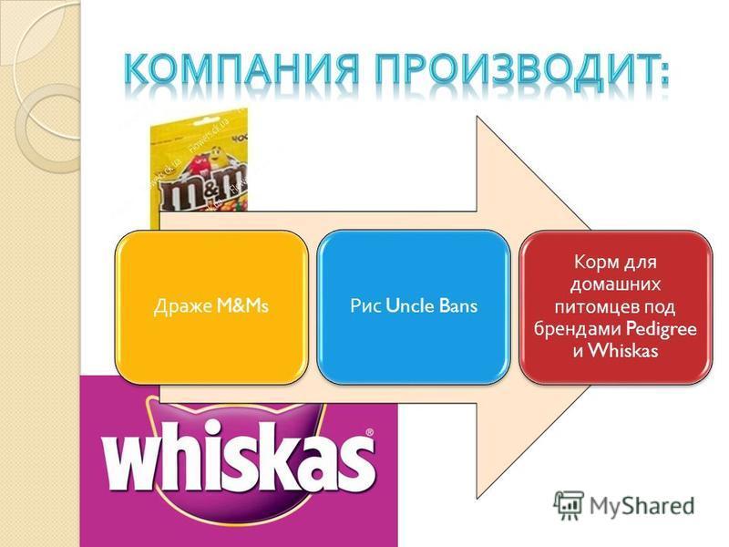 Драже M&Ms Рис Uncle Bans Корм для домашних питомцев под брендами Pedigree и Whiskas