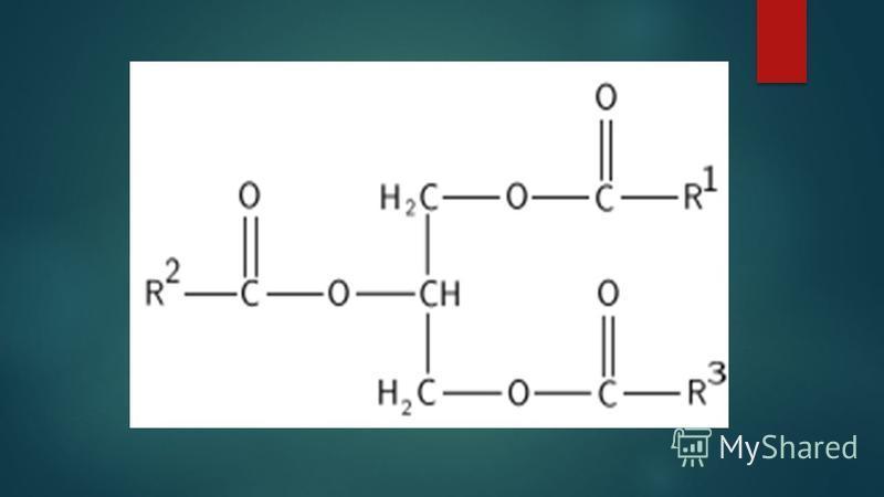 Состав жиров определили французские ученые М. Шеврель и М. Бертло. В 1811 году М. Шеврель установил, что при нагревании смеси жира с водой в щелочной среде образуются глицерин и карбоновые кислоты (стеариновая и олеиновая). В 1854 году химик М. Бертл