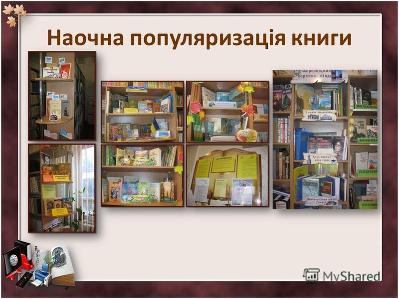 Наочна популяризація книги