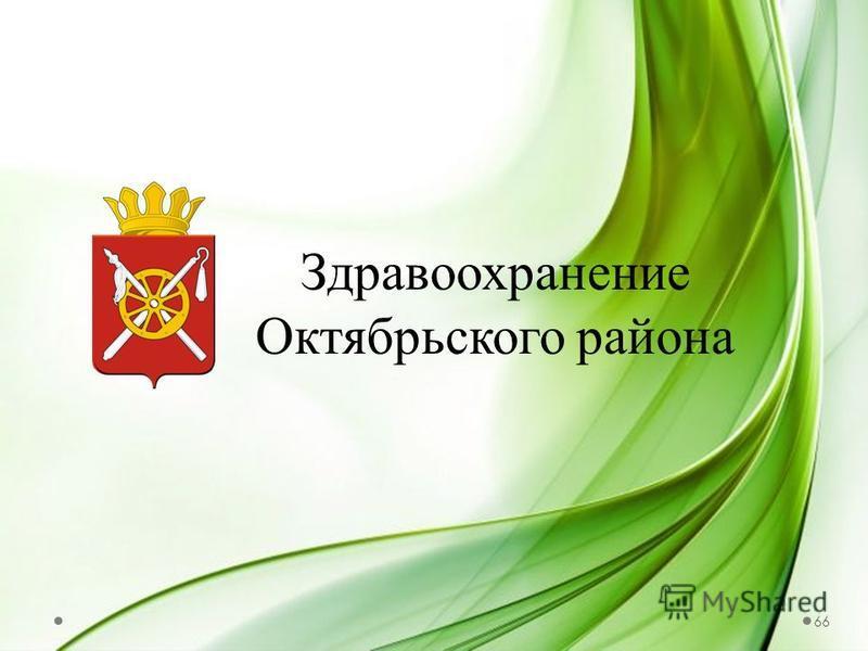 Здравоохранение Октябрьского района 66