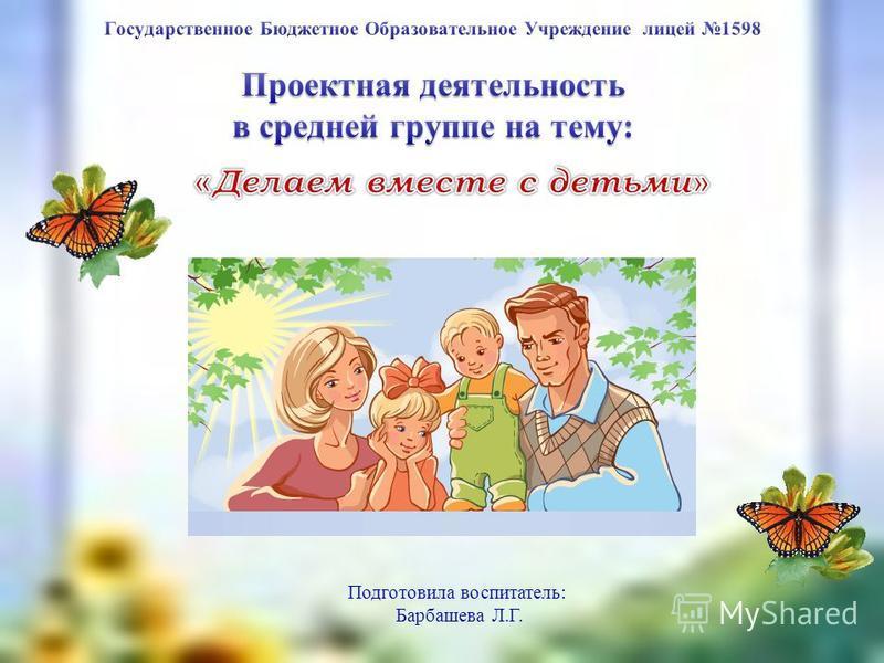 урока изо Подготовила воспитатель: Барбашева Л.Г.
