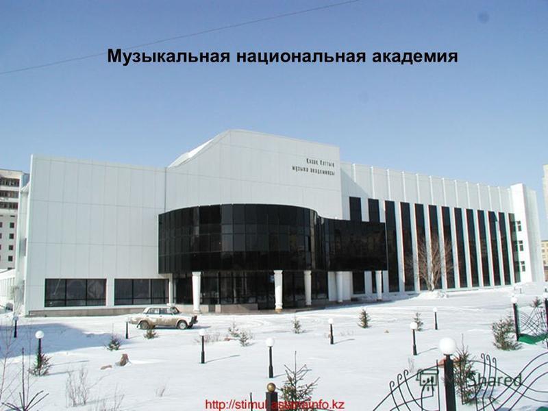 Музыкальная национальная академия