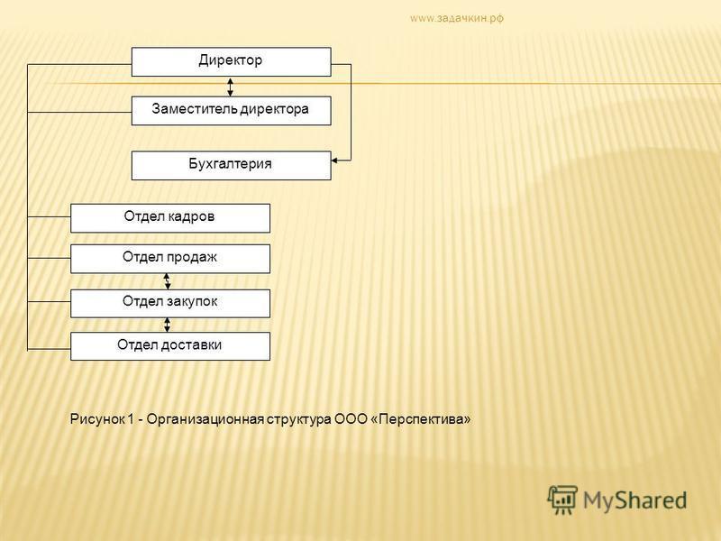Презентация на тему Анализ сбытовой деятельности торгового  3 Директор Заместитель