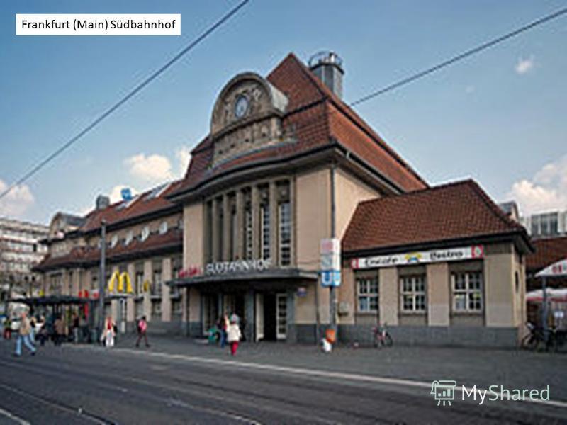 Frankfurt (Main) Südbahnhof