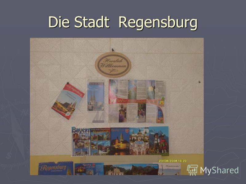 Die Stadt Regensburg