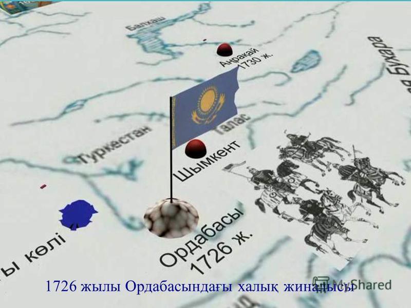Ашық сабақтар 1726 жылы Ордабасындағы халық жиналысы