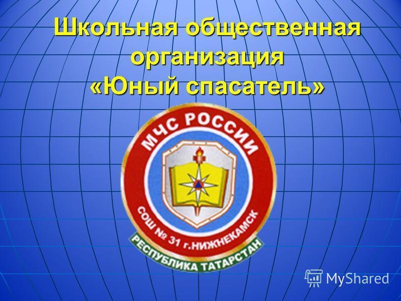 Школьная общественная организация «Юный спасатель»