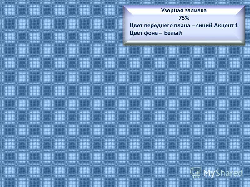 Текстурная заливка « Зеленый мрамор » преобразование рисунка в текстуру Выравнивание – по верхнему и левому краю Масштаб по Х : 30% Масштаб по Y: 500% Тип отражения – по горизонтали Прозрачность : 20% Текстурная заливка « Зеленый мрамор » преобразова